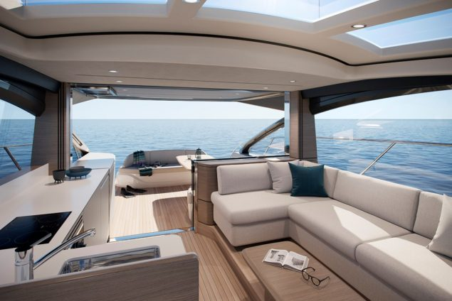 Princess Yachts - V55